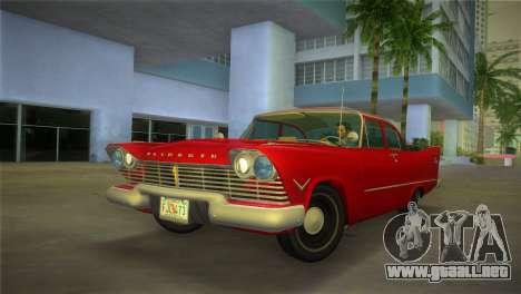 Plymouth Savoy Club Sedan 1957 para GTA Vice City