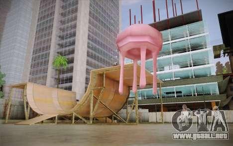 Medusa (Bob Esponja) para GTA San Andreas segunda pantalla