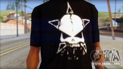 Infected Rain T-Shirt para GTA San Andreas tercera pantalla