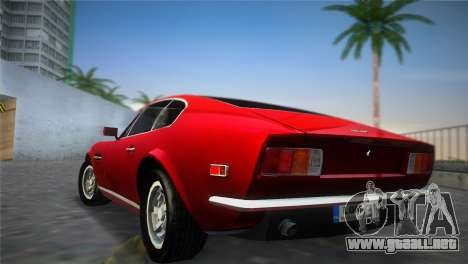 Aston Martin V8 Vantage 1970 para GTA Vice City left