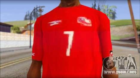 Seleccion Chilena T-Shirt 2010 para GTA San Andreas tercera pantalla