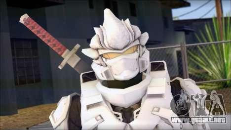 Halo 3 Hayabusa Armor para GTA San Andreas tercera pantalla
