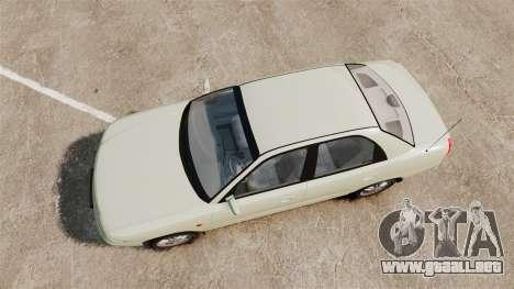 Daewoo Nubira I Sedan CDX PL 1997 para GTA 4 visión correcta