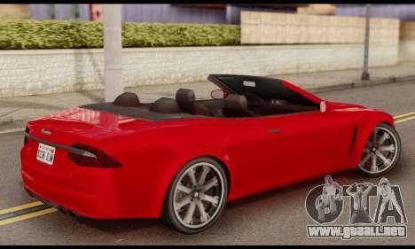 Lampadati Felon GT 1.1 para GTA San Andreas left