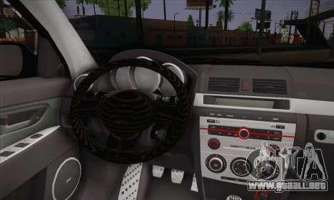 Mazda Speed 3 Tuning para GTA San Andreas vista posterior izquierda