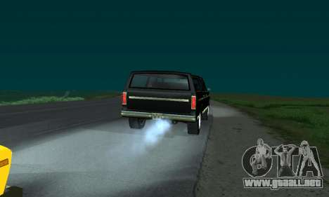 New FBI Rancher para GTA San Andreas left