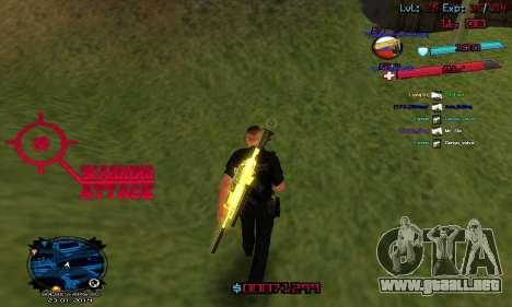 C-HUD by Accord para GTA San Andreas tercera pantalla