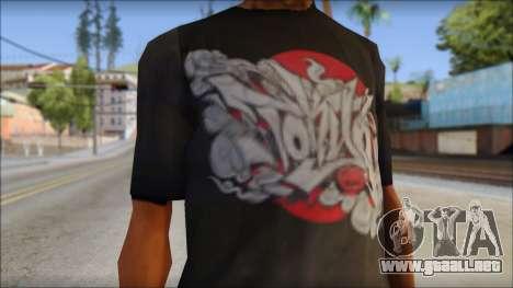 New Ecko T-Shirt para GTA San Andreas tercera pantalla