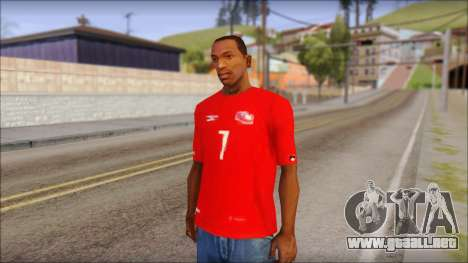 Seleccion Chilena T-Shirt 2010 para GTA San Andreas