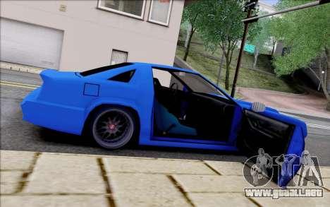 Buffalo Drift Style para la vista superior GTA San Andreas