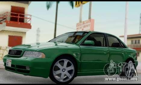 Audi S4 2000 para visión interna GTA San Andreas