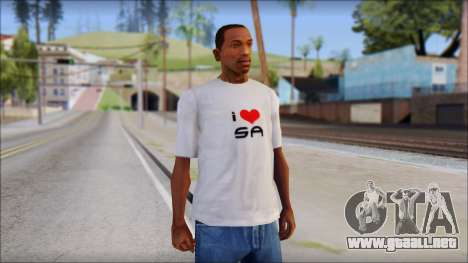 I Love SA T-Shirt para GTA San Andreas