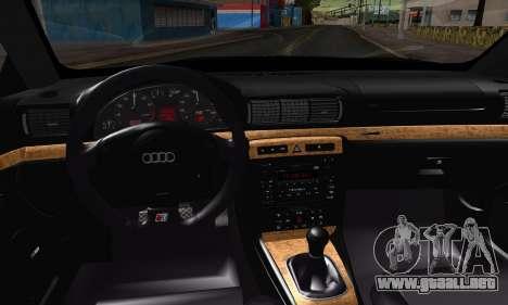 Audi S4 2000 para la visión correcta GTA San Andreas