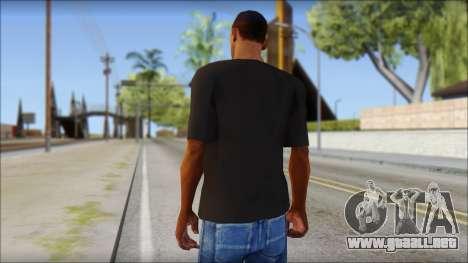 Chocolate T-Shirt para GTA San Andreas segunda pantalla