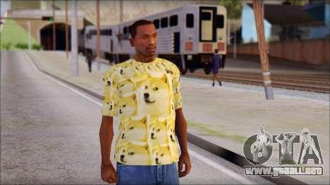 Doge T-Shirt para GTA San Andreas