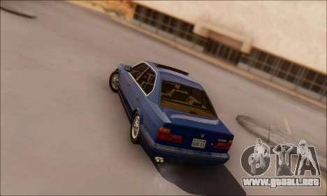 BMW 535i Stock para GTA San Andreas left