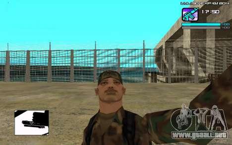 Perfect C-HUD para GTA San Andreas segunda pantalla