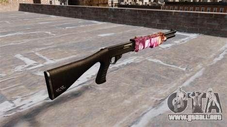 Pistola de Franchi SPAS-12 Puntos para GTA 4 segundos de pantalla