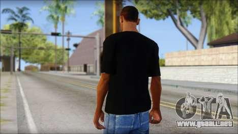 LMAFAO T-Shirt para GTA San Andreas segunda pantalla