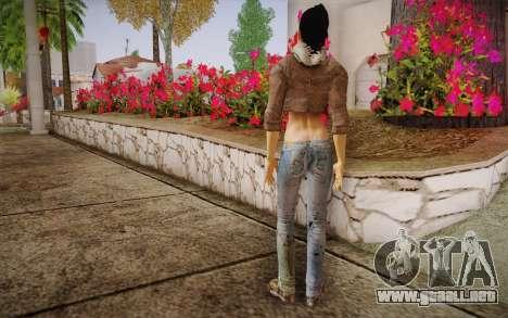 Alyx Vance CM (Adriana Lima) v.1.0 para GTA San Andreas segunda pantalla