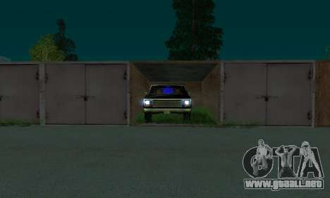 New FBI Rancher para la visión correcta GTA San Andreas