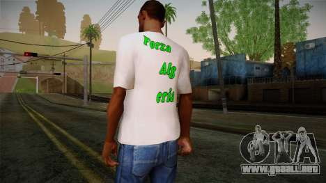 Keep Calm and Love Shirt para GTA San Andreas segunda pantalla