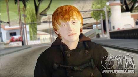 Ron Weasley para GTA San Andreas tercera pantalla