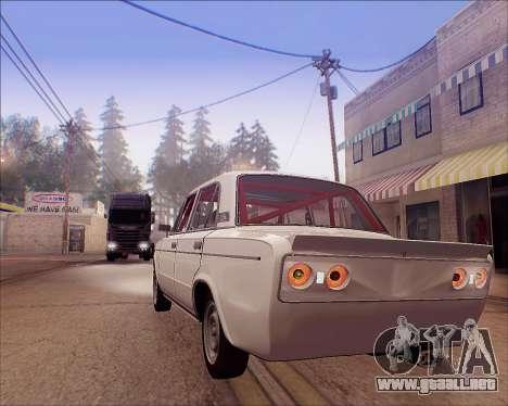VAZ 2106 Sintonizable para visión interna GTA San Andreas