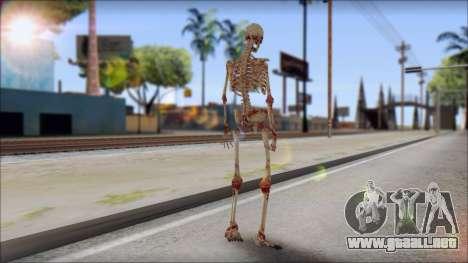 Skeleton from Sniper Elite v2 para GTA San Andreas segunda pantalla