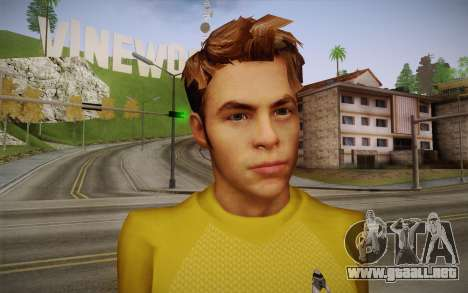 James T. Kirk From Star Trek para GTA San Andreas tercera pantalla