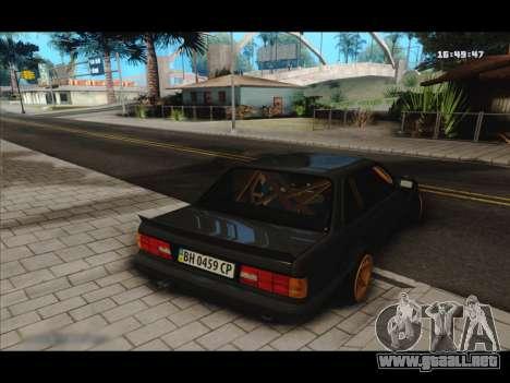 BMW e30 UDC para la visión correcta GTA San Andreas