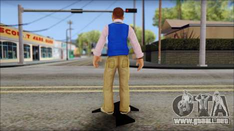 Petey from Bully Scholarship Edition para GTA San Andreas tercera pantalla