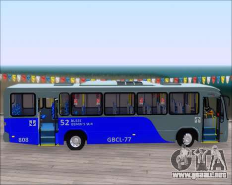 Neobus Spectrum City Mercedes Benz OF-1722 para vista inferior GTA San Andreas