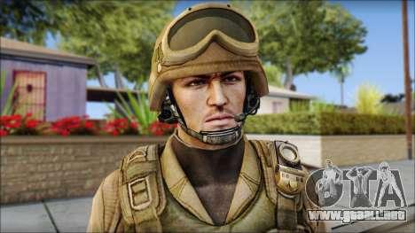 Desert Gafe Soldier Front 2 para GTA San Andreas tercera pantalla
