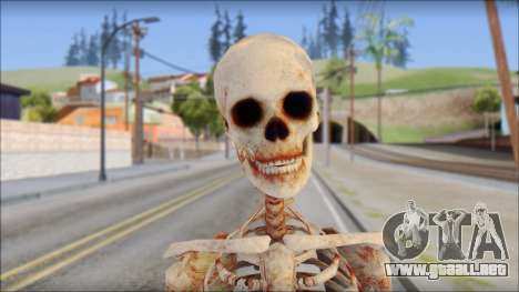 Skeleton from Sniper Elite v2 para GTA San Andreas tercera pantalla