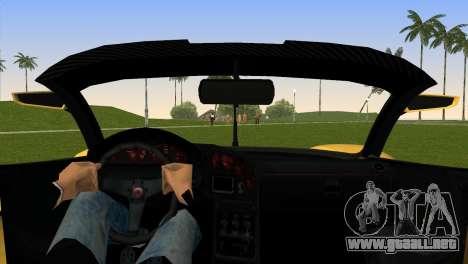 Turismo R from GTA 5 para GTA Vice City vista lateral izquierdo