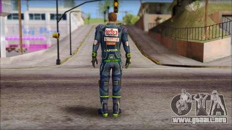 Piers Azul no Gorra para GTA San Andreas segunda pantalla