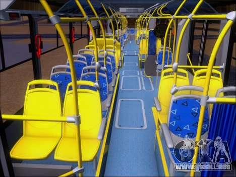 Neobus Mega BRT Volvo B12M-340M para la vista superior GTA San Andreas