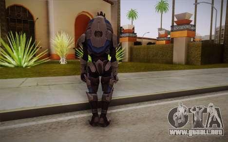 Garrus from Mass Effect 3 para GTA San Andreas segunda pantalla