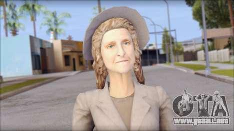 Old Lady para GTA San Andreas tercera pantalla