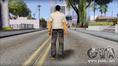 Toni Cipriani v1 para GTA San Andreas segunda pantalla