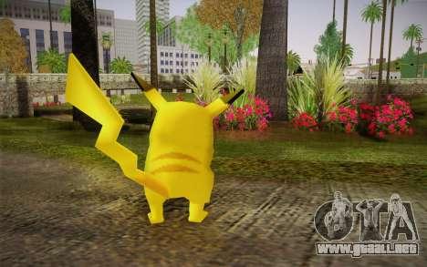 Pikachu para GTA San Andreas segunda pantalla