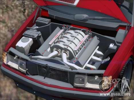 Mercedes Benz 190E Drift V8 para el motor de GTA San Andreas