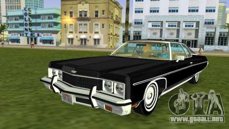 Chevrolet Caprice Classic 1973 para GTA Vice City