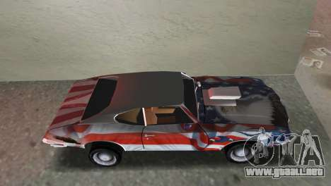 Oldsmobile 442 1970 v2.0 para GTA Vice City vista lateral izquierdo