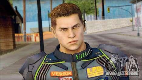 Piers Azul no Gorra para GTA San Andreas tercera pantalla