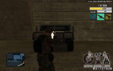C-HUD by SampHack v.9 para GTA San Andreas segunda pantalla