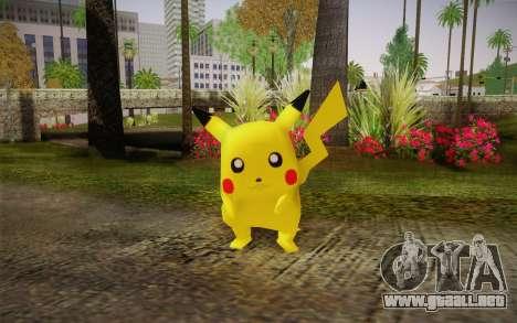 Pikachu para GTA San Andreas