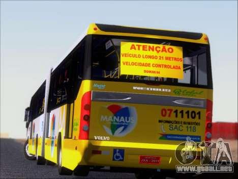 Прицеп Neobus Mega BHNS Volvo B12-340M para las ruedas de GTA San Andreas