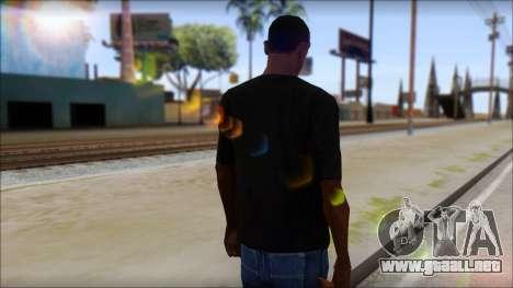 BrainoNimbus T-Shirt para GTA San Andreas segunda pantalla